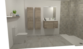 ELENA Classic Bathroom Tot Mampara